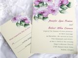 Morning Wedding Invitations Elegant Purple Morning Glory Affordable Flower Wedding