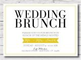 Morning Wedding Invitations Printable Wedding Brunch Morning after by Vallarinacreative