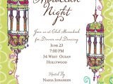 "Moroccan Party Invitations Templates Quick View Bik Ph 66 ""moroccan Nights Invitation"""