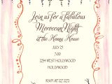 "Moroccan Party Invitations Templates Quick View Bik Wch 31 ""keep On Moroccan You Invitation"""