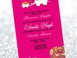 Moroccan Style Baby Shower Invitations Moroccan Baby Shower Invitation
