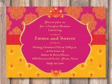Moroccan themed Bridal Shower Invitations Hot Pink and Yellow Morocco Bridal Shower Printable Invitation