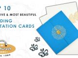 Most Beautiful Wedding Invitation Cards top 10 Creative and Most Beautiful Wedding Invitation