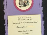 Mother Goose Baby Shower Invitations Mother Goose Baby Shower Invitations