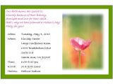 Mother S Day Tea Party Invitation Wording General Invitation Card Ideas for Your Inspirations Emuroom
