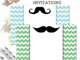 Moustache Baby Shower Invitations Free Mustache Baby Shower Invitations Ilona S Passion