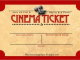 Movie Party Invitations Free Printable Favorite Movie Night Party Ideas Decor to Adore