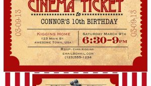 Movie Party Invitations Free Printable Like Mom and Apple Pie A Summer Movies Free