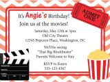 Movie Party Invitations Free Printable Movie Invitation Printable Google Search