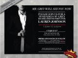 Movie Premiere Party Invitations Fifty Shades Of Grey Invitation Party Bachelorette