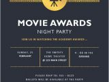 Movie Premiere Party Invitations Movie Awards Party Invitation Inspirational Movie Premiere