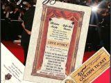 Movie theater Wedding Invitations Qty 50 Hollywood Glamour Movie theme Wedding Invitations and