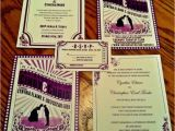 Movie themed Wedding Invites 17 Best Images About Movie Wedding Invitations On