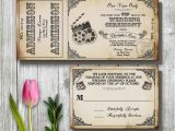 Movie themed Wedding Invites Movie themed Wedding Invitation Templates