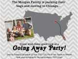 Moving Away Party Invitations Going Away Party Invitation Moving Farewell Party