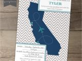 Moving Away Party Invitations Going Away Party Invitations Invites Single State by