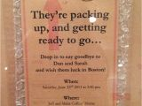 Moving Party Invitation Wording Going Away Party Invitation Party Ideas Pinterest