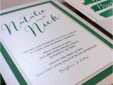 Multi Color Wedding Invitations Multi Color Wedding Invitations Lovely 5×7 Green and
