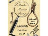 Murder Mystery Birthday Party Invitations Murder Mystery Party Invitations Zazzle Com