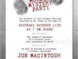 Murder Mystery Party Invitations Free Printable Clue Birthday Invitation Murder Mystery Party Customizable