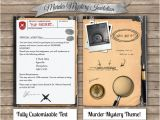 Murder Mystery Party Invitations Free Printable Diy Murder Mystery Invitation Printandparty