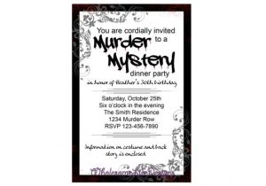 Murder Mystery Party Invitations Free Printable Items Similar to Murder Mystery Invitation Black and