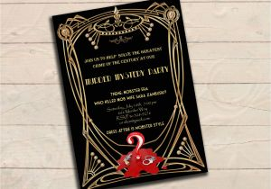 Murder Mystery Party Invitations Free Printable Murder Mystery Dinner Invitation Best Party Ideas