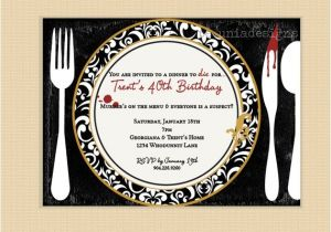 Murder Mystery Party Invitations Free Printable Murder Mystery Dinner Party Invitation