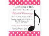 Music themed Baby Shower Invitations Personalized Music Baby Shower Invitations