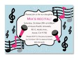 Music themed Birthday Party Invitations Music themed Birthday Party Invitations Dolanpedia