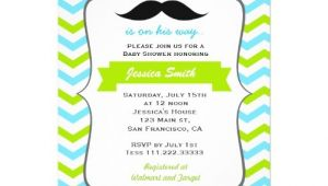 Mustache Invitations for Baby Shower Mustache Baby Shower Invitation