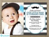 Mustache Invitations for First Birthday Little Man Invitation Mustache Invitation First