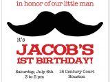 Mustache Party Invitation Template Birthday Invites Mustache Birthday Invitations Printable