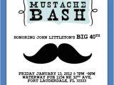Mustache Party Invitation Template Free 40th Birthday Ideas Mustache Birthday Invitation Template