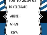 Mustache Party Invitation Template Free Mustache Party Invitations – Gangcraft