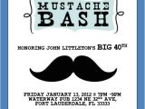 Mustache Party Invitation Template Mustache Bash Invitation Template 4×6 by Luckybean33 On Etsy