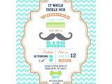 Mustache themed Baby Shower Invitations Best 25 Mustache Invitations Ideas On Pinterest