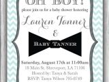 Mustache themed Baby Shower Invitations Mustache and Bow Tie Baby Shower Invitations