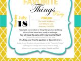 My Favorite Things Party Invitation Money Hip Mamas How to Host A My Favorite Things Party