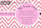 My Favorite Things Party Invitation sonny Side Up My Favorite Things Party Invitation Preview