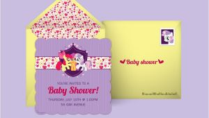 My Little Pony Baby Shower Invitations Free My Little Pony Invitations My Little Pony Line
