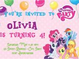 My Little Pony Baby Shower Invitations My Little Pony Birthday Party Invitations Baby Shower for