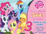 My Little Pony Printable Birthday Invitations My Little Pony Birthday Party Invitations