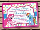 My Little Pony Printable Birthday Invitations Updated Free Printable My Little Pony Birthday
