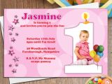 My son First Birthday Invitation Invitation for Birthday Party Of son Mangdienthoai Com