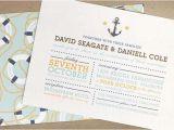 My Wedding Com Invitations Nautical Wedding Invitations Mywedding Com