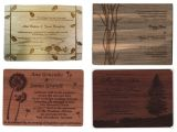 My Wedding Com Invitations Rustic Wood Wedding Invitations Mywedding Com