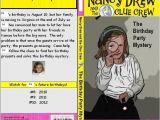 Nancy Drew Party Invitations Wash Your Hands afterwards Nancy Drew Birthday Party Insanity