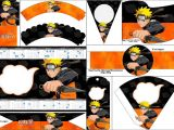 Naruto Birthday Invitation Template Naruto Free Party Printables Oh My Fiesta for Geeks