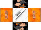 Naruto Birthday Invitation Template Naruto Free Printable Boxes Oh My Fiesta for Geeks